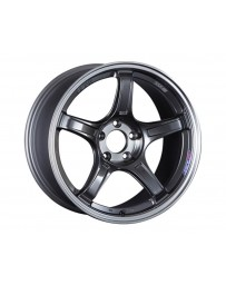 SSR GTX03 Wheel 18x9.5 5x100 38mm Black Graphite