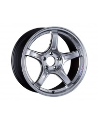 SSR GTX03 Wheel 18x9.5 5x100 38mm Platinum Silver