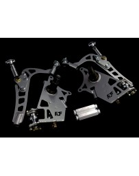 FDF RaceShop FORD MUSTANG SN95 MANTIS ANGLE KIT With Full Knuckle Replacement Custom colour