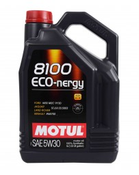 370z Motul 8100 5W30 ECO-NERGY Synthetic Engine Oil - 5 Liter