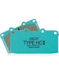 300zx Z32 Project Mu Type HC+ Brake Pads, Front - Nissan Skyline GT-R 89-94 R32 Non Spec-V / 90-96