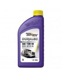 Royal Purple API-Licensed Multi-Grade SAE 15W-40 Synthetic Motor Oil, 1 Quart x 6