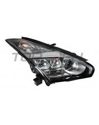 R35 GT-R Nissan OEM Headlight Assembly, Lightning Bolt LED, RH 17+