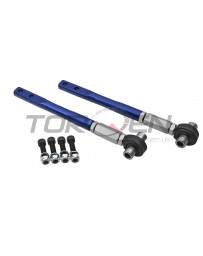 300zx Z32 P2M Front Adjustable Tension Rods w/ Offset Spacers - Nissan 240SX S13