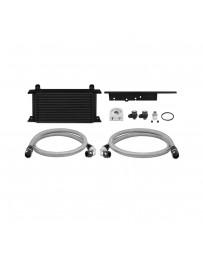 350z Z33 Mishimoto Oil Cooler Kit Black Non-Thermostatic