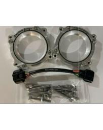 Simplistic Garage 75mm Throttle Body Adapters and Harness (HR/VHR2002) VQ35HR/VQ37VHR G35 350z G37FX37 370Z Infiniti Q50 Q60