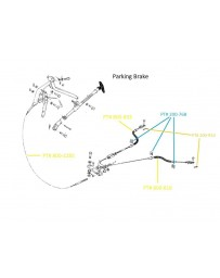 Parking Brake Cable 510 68-73