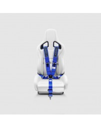 Street Aero Blue SFI Certified Single Racing Harness