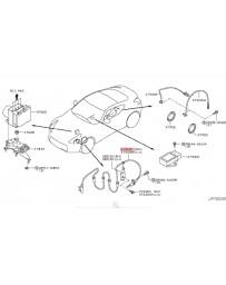 370z Z34 Nissan OEM ABS Wheel Speed Sensor Front