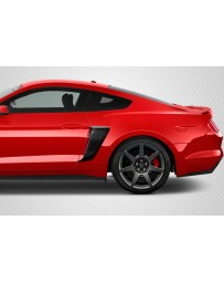 2015-2020 Ford Mustang Carbon Creations CVX Side Scoops - 2 Piece