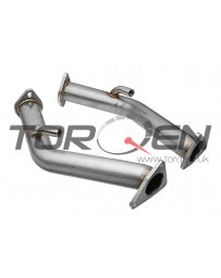 """370z AAM Competition 2.5"""" Test Pipes Nissan"""