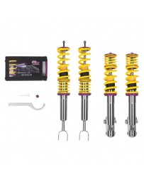 "EVO 8 & 9 KW Suspensions 0.9""-2.0"" x 0.9""-2.0"" Front and Rear V1 Inox-Line Coilover Lowering Kit"