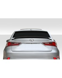 2014-2020 Lexus IS Series IS250 IS350 Duraflex A Spec Rear Wing Spoiler - 1 Piece