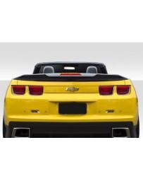 2010-2013 Chevrolet Camaro Convertible Duraflex A Spec Rear Wing Spoiler - 1 Piece