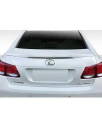 2006-2011 Lexus GS Series GS300 GS350 GS430 GS450 GS460 Duraflex A-Spec Wing Spoiler - 1 Piece