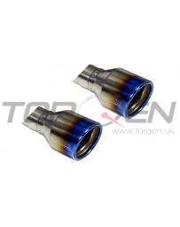 350z Invidia Gemini Rolled Titanium Tip Cat-back Exhaust - *TIP ONLY*