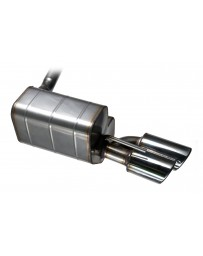 QuickSilver Austin Healey 100/4 - Stainless Steel Exhaust (1953-56)