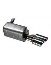 QuickSilver Citroen 7cv / 11cv 'Traction Avant' - Stainless Steel Exhaust (1935-57)