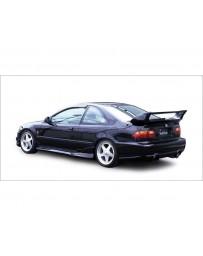 VeilSide 1992-1995 Honda Civic Coupe/ Sedan EJ1 EC-1 Model Rear Bumper Spoiler (FRP)