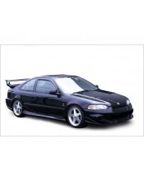 VeilSide 1992-1995 Honda Civic HB/ Coupe EJ1 EC-1 Model Front Bumper Spoiler (FRP)