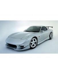 VeilSide 1993-2002 Mazda RX7 FD3S C-II Model Over Fender (FRP)