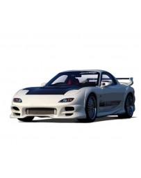 VeilSide 1993-2002 Mazda RX7 FD3S C-III Model Front Bumper Spoiler (FRP)