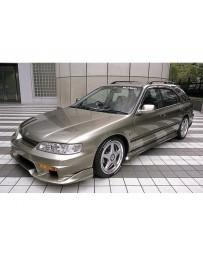 VeilSide 1994-1997 Honda Accord Sedan/ Wagon CE1 EC-1 Model Side Skirts (FRP)