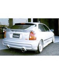 VeilSide 1996-2000 Honda Civic HB EK4 EC-I Model Rear Bumper Spoiler (FRP)