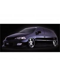 VeilSide 1999-2003 Honda Odyssey JDM RA6 Goltier Front Bumper Spoiler Type1 (FRP)