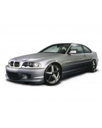 VeilSide 1999-2006 BMW E46 3-Series Coupe Executive Sports Model Front Bumper Spoiler (FRP)
