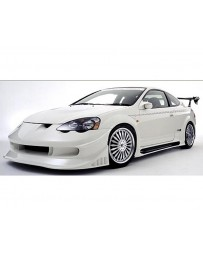 VeilSide 2002-2006 Acura RSX DC5 Racing Edition Side Skirts (FRP)