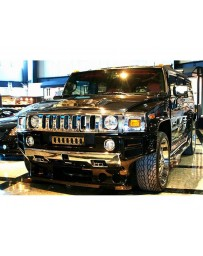 VeilSide 2003-2009 Hummer H2 USA Model Carbon Front & Rear Protector