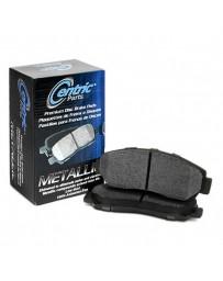 EVO 8 & 9 Centric Premium™ Semi-Metallic Front Disc Brake Pads