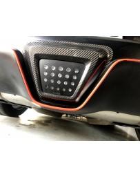 Toyota Supra GR A90 MK5 Supra Star Motorsport Carbon Rear LED Bumper Cover