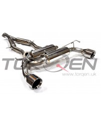 370z Tanabe Medallion Touring Dual Muffler C/B Exhaust System