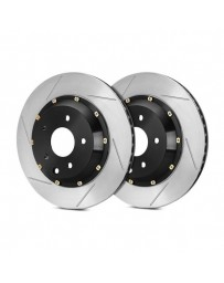 R35 StopTech AeroRotor Slotted 2-Piece Front Passenger Side Brake Rotors