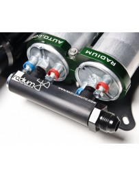 R35 Radium Engineering 4-Port Manifold, Black with Logo - Bosch