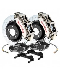 R35 Brembo GT-R Series Curved Vane Type III 2-Piece Rotor Front Big Brake Kit