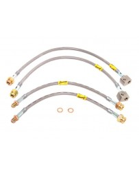 R32 Goodridge Front + Rear Stainless Steel Brake Line Kit