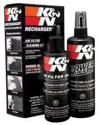 370z K&N Air Filter Cleaning Kit