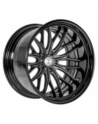 VOSSEN x Work VWS-2 - Matte Graphite Center / Gloss Black Lip