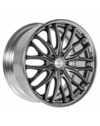VOSSEN x Work VWS-2 - Matte Graphite Center / Polished Lip