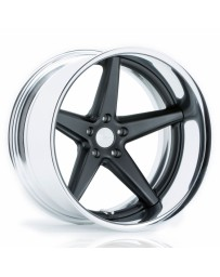 VOSSEN x Work VWS-3 - Matte Graphite Center / Polished Lip
