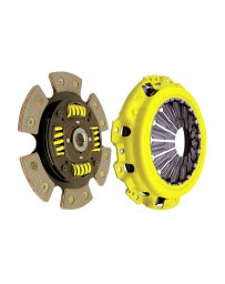 350z DE ACT Clutch Kit, Heavy Duty Pressure Plate with 6-Pad Race Sprung Disc