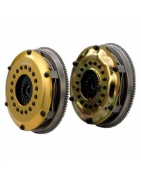 R32 OS Giken Twin Disc Clutch with Steel Cover