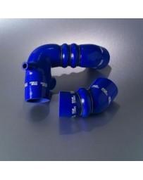 R32 Samco Blue Intercooler Hoses Turbo Hose Kit 2 Piece Kit