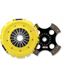 R33 ACT XT Pressure Plate with Race Rigid 4-Pad Clutch Disc