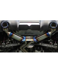 R33 GReddy Super Street Titan Stainless Steel Cat-Back Exhaust System