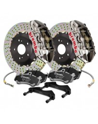 R33 Brembo GT-R Series Cross Drilled 2-Piece Rotor Rear Big Brake Kit