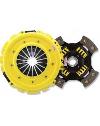 R32 ACT XT Pressure Plate with Race Sprung 4-Pad Clutch Disc